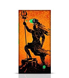 Stylebaby Phone Case Lord Shiva Back Cover For Nokia Lumia 730 Multicolor