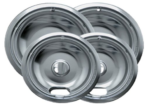 Range Kleen 10124XN Drip Pans 4 Pack Containing