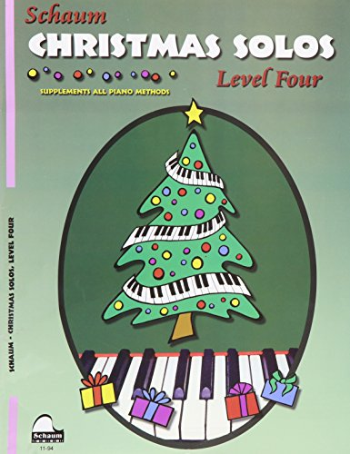 Christmas Solos: Level 4 (Schaum Publications)