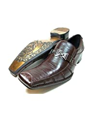mens brown delli aldo loafer dress casual shoes styled in