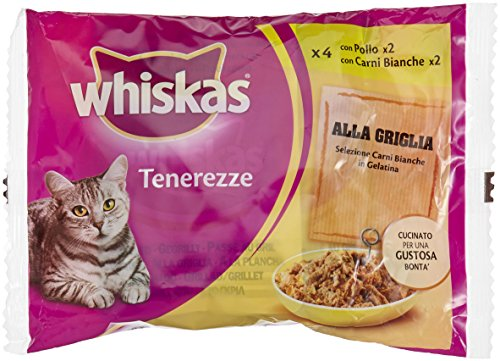 Whiskas Tenerezze Carni Bianche Gr.85X4