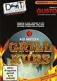 Grillkurs, 68 Seiten Handbuch und 90 Minuten DVD: Adi Matzek's Grill-Kurs für perfekte Ergebnisse auf Elektro, Gas und Holzkohle: Materialkunde, ... und mit ein wenig Übung zum Grillweltmeister!