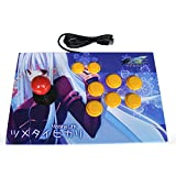 TCD-1001 Arcade Stick For PC(win7/10) MAME PS3 Fighting Controller Joystick Gamepad (Blue(missing link)) (Color: Blue(missing link))