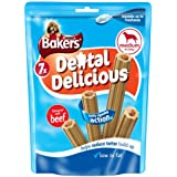 Bakers Dental Delicious Beef for Medium Dogs 200 g (Pack of 6)