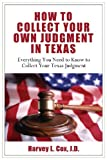 img - for How to Collect Your Own Judgment in Texas book / textbook / text book