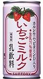 サントリー いちごミルク 190g×30本