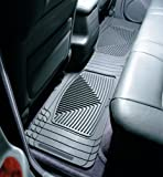 WeatherTech - W20GR - 1988-1990 Olds Touring Sedan Grey All Weather Floor Mats 2nd Row