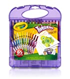 Crayola; Twistables; Mini Crayons and Paper Set; Art Tools; 25 Mini Twistables Crayons, 40 Sheets of Paper and Storage Case