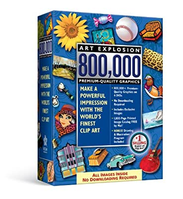 Art Explosion 800,000