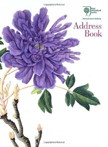 Royal Horticultural Society Desk Address Book PDF