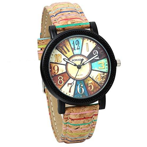 jewelrywe-damen-armbanduhr-analog-quarz-retro-holzmaserung-leder-band-uhr-mit-bunten-geometrischen-m