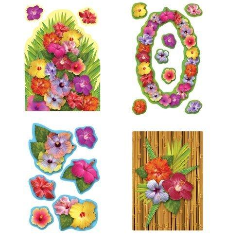 Hibiscus Cutouts   (18/Pkg)