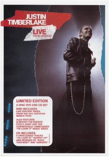 Justin Timberlake - Live From London (Dvd + Cd) - Zortam Music