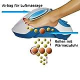 Fuss-fit-Maxx-Fussmassagegert-Wellness-Oase-Fureflexzonen-Massagegert-mit-3D-Luftmassagetechnik-und-zuschaltbarer-Wrmefunktion