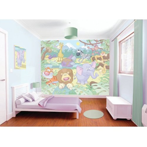 papier peint de photo - Nursery - Jungle Safari