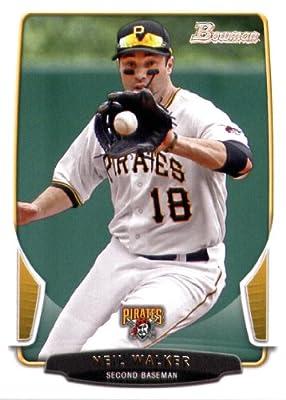 2013 Bowman Baseball Card #201 Neil Walker - Pittsburgh Pirates - MLB Trading Card