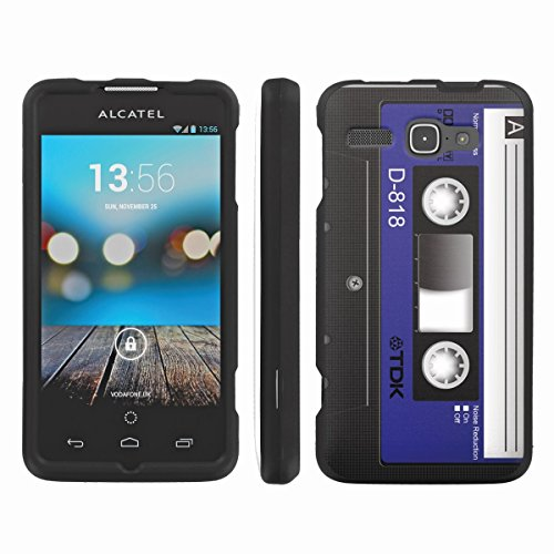 [ArmorXtreme] Designer Image Shell Cover Hard Case (Cassette Blue) for Alcatel One Touch Sonic A851L / One Touch Viper 7030Y