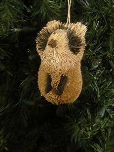 #!Cheap Bottle Brush Squirrel Ornament