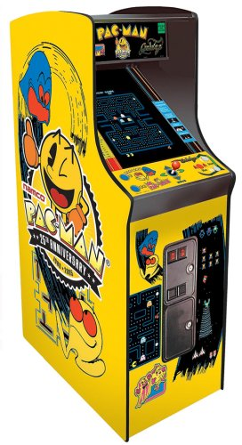 Namco Pac-Man 25th Anniversary Home Cabaret Cabinet Arcade Game (Pac-Man, Ms. Pac-Man, Galaga)