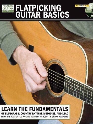 Flatpicking Guitar Basics Book/CD (String Letter Publishing) (Acoustic Guitar) (Acoustic Guitar Private Lessons)