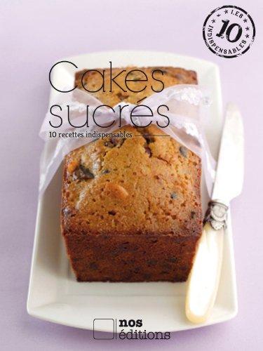 Couverture du livre Cakes sucrés
