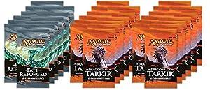 DRAFT SET - Magic: the Gathering: Dragons of Tarkir (4 DTK) / Fate Reforged Draft (2 FRF) - 2 Player Draft Set