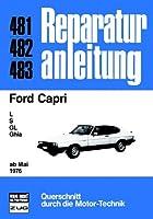 Ford Capri 1976 Reparaturanleitungen