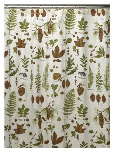 Creative Bath S0991NAT Northwoods Shower Curtain