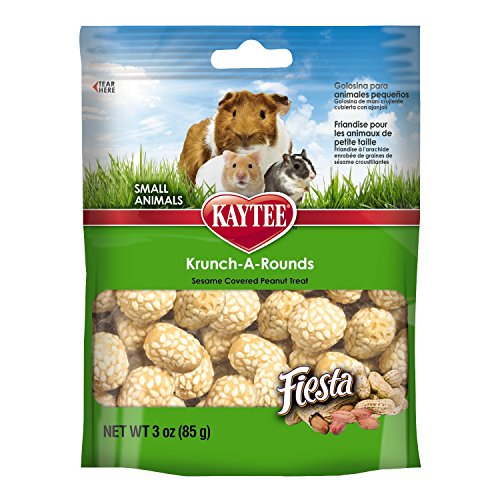 Kaytee Fiesta Krunch-A-Rounds Treat for Small Animals, 3-Ounce