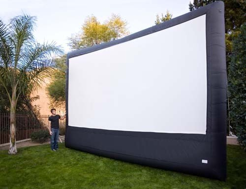 Huge Inflatable 16x9 Outdoor Theater System