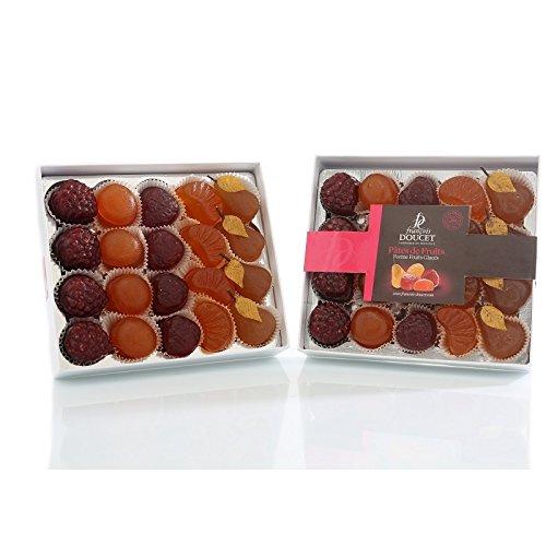 Francois Doucet - French Fruit Paste (Pate de Fruit) Fruit shape 20pcs 7oz (200g) (Pate De Fruit compare prices)