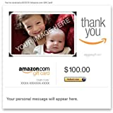 Amazon.com Gift Card - Upload Your Photo (E-mail) - Thank You
