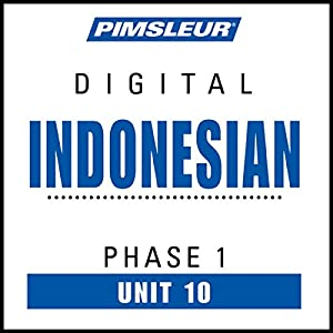 Indonesian Phase 1, Unit 10 Audiobook