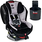 Britax - Advocate G4 1 Convertible Car Seat with Cup Holder - Silver Diamonds