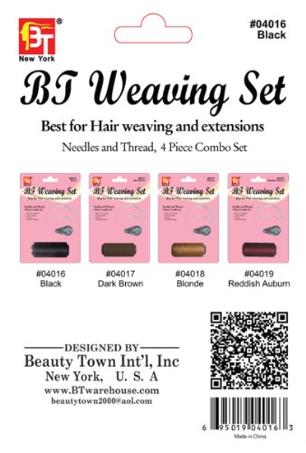 beauty town weaving set 60 yard black arts entertainment hobbies creative arts crafts. Black Bedroom Furniture Sets. Home Design Ideas