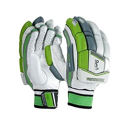 Kookaburra Kahuna 1000 Men's Right Hand Batting Gloves (White/Grey/Green)