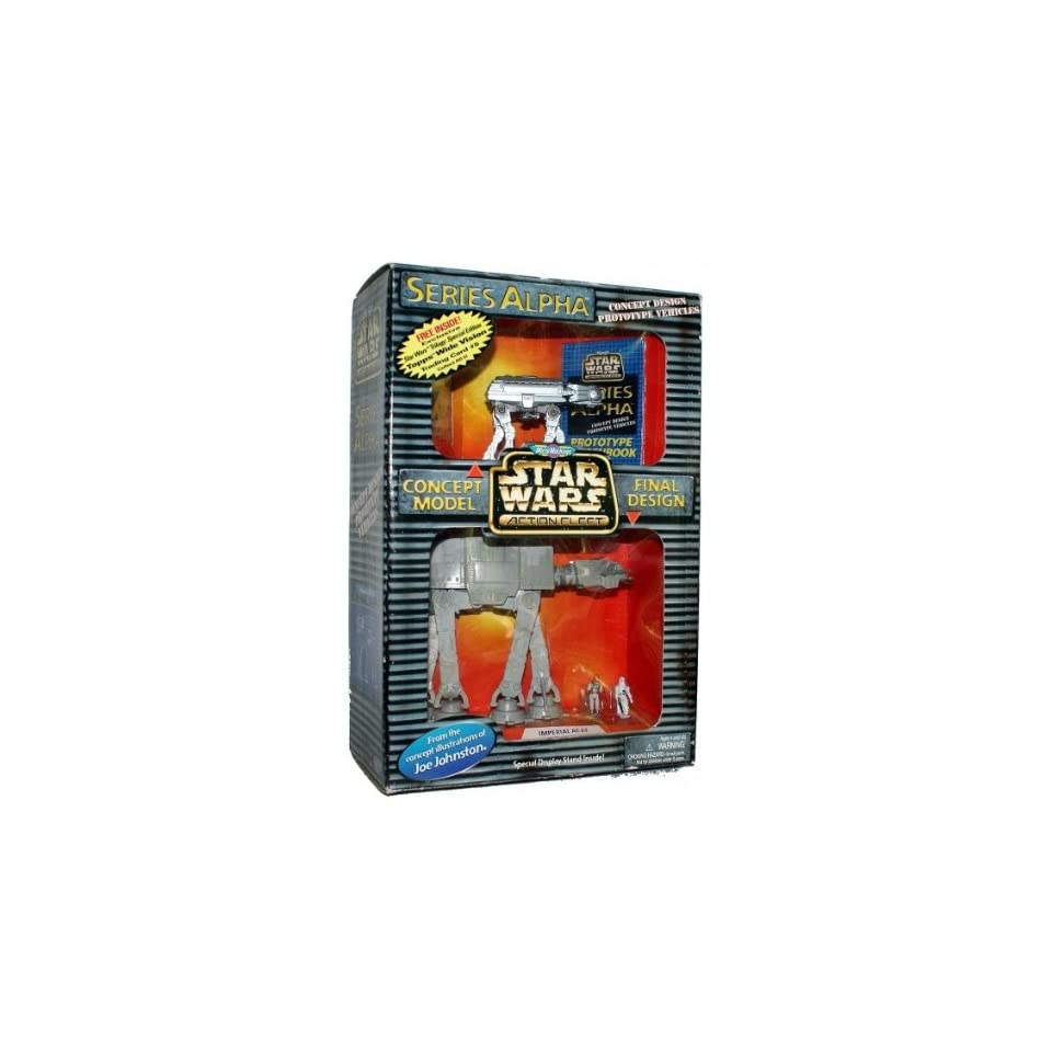 Star Wars Micro Machines Action Fleet Series Alpha Imperial AT AT