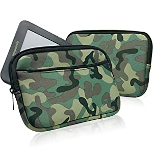 BoxWave Google Nexus 7 (1st Gen/2012) Case - BoxWave Camouflage Google Nexus 7 (1st Gen/2012) Suit with Pocket - Camo Design Slim Neoprene Zippered Carrying Case for Google Nexus 7 (1st Gen/2012)