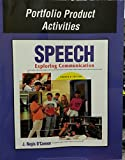 img - for Speech - Exploring Communication - Portfolio Product Activities book / textbook / text book