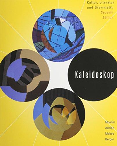 Kaleidoscope: Kultur, Literatur Und Grammatik (German Edition)