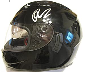 Brad Keselowski, Nascar, Driver, Signed, Autographed, Full Size Helmet, a COA and the... by HELMET