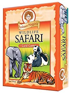 Educational Trivia Card Game - Professor Noggin's Wildlife Safari