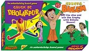 Chhota Bheem Chhota Bheem Chuck De Dholakpur, Multi Color