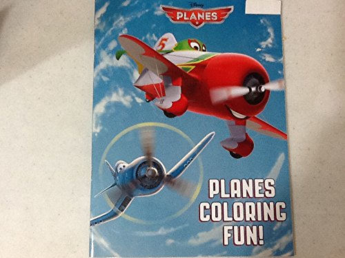DISNEY PLANES COLORING FUN