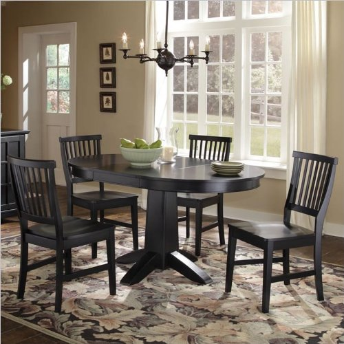 Home Style 5180 308 Arts And Crafts 5 Piece Round Dining