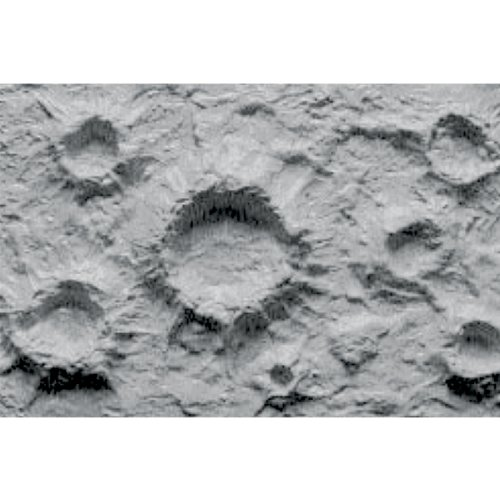 JTT Scenery Products Plastic Pattern Sheets: Moon & War Craters
