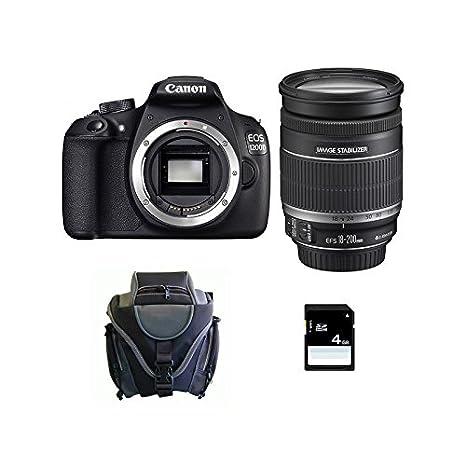 CANON EOS 1200D + 18-200 IS + Sac + Carte SD 4Go