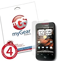 myGear Products DiamondDust Screen Protector Film for HTC Droid Incredible 2 & S - (4 Pack) Diamond