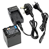 DSTE® VW-VBN260 Rechargeable Li-ion Battery + Charger DC126U for Panasonic HC-X800, HC-X900, HC-X900M, HC-X910, HC-X920, HC-X920M, HDC-HS900, HDC-SD800, HDC-SD900, HDC-TM900