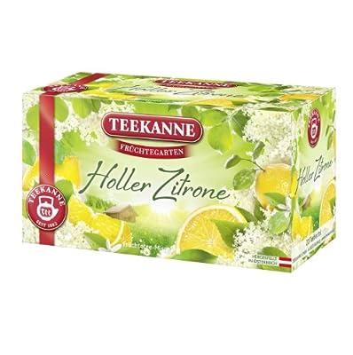 Teekanne Früchtegarten Holler-Zitrone 20 Beutel, 6er Pack (6 x 55 g) von Teekanne - Gewürze Shop